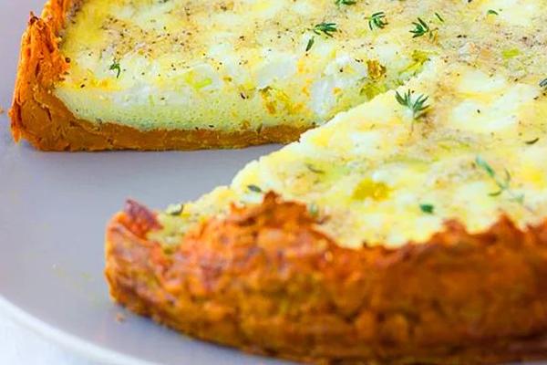 Keçi Peynirli Patatesli Tart