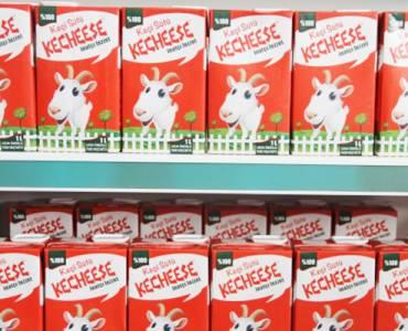 Kecheese Keçi Sütü ile Migros'larda