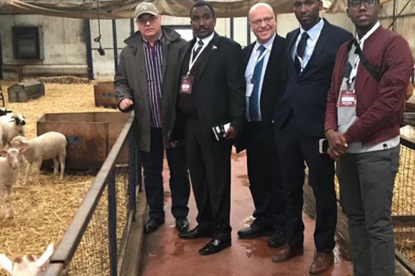 Türer'e Somaliland Tarım Bakanı Ziyareti